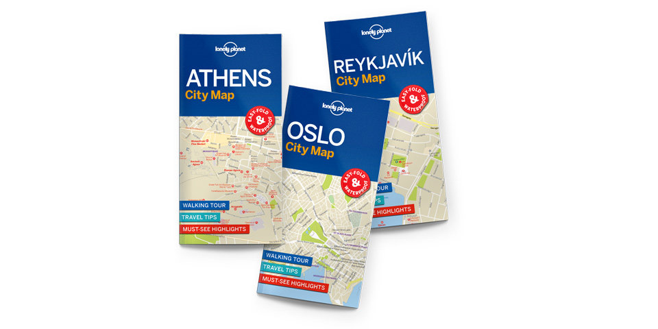 Lonely Planet Maps