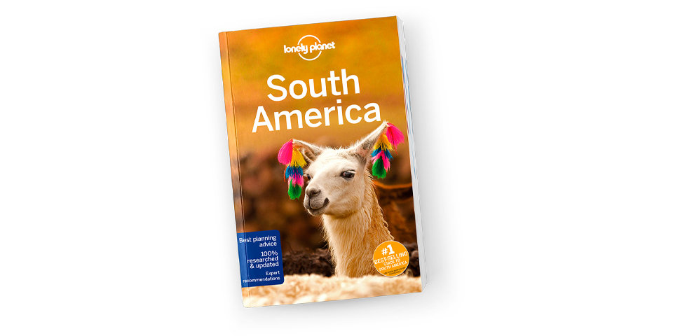 Lonely Planet's South America guidebook
