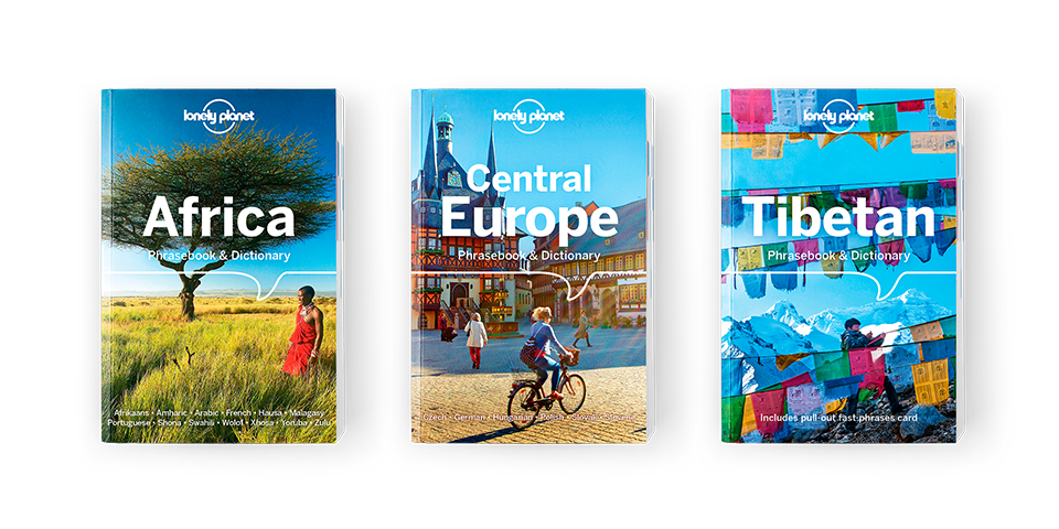Lonely Planet new phrasebooks out now