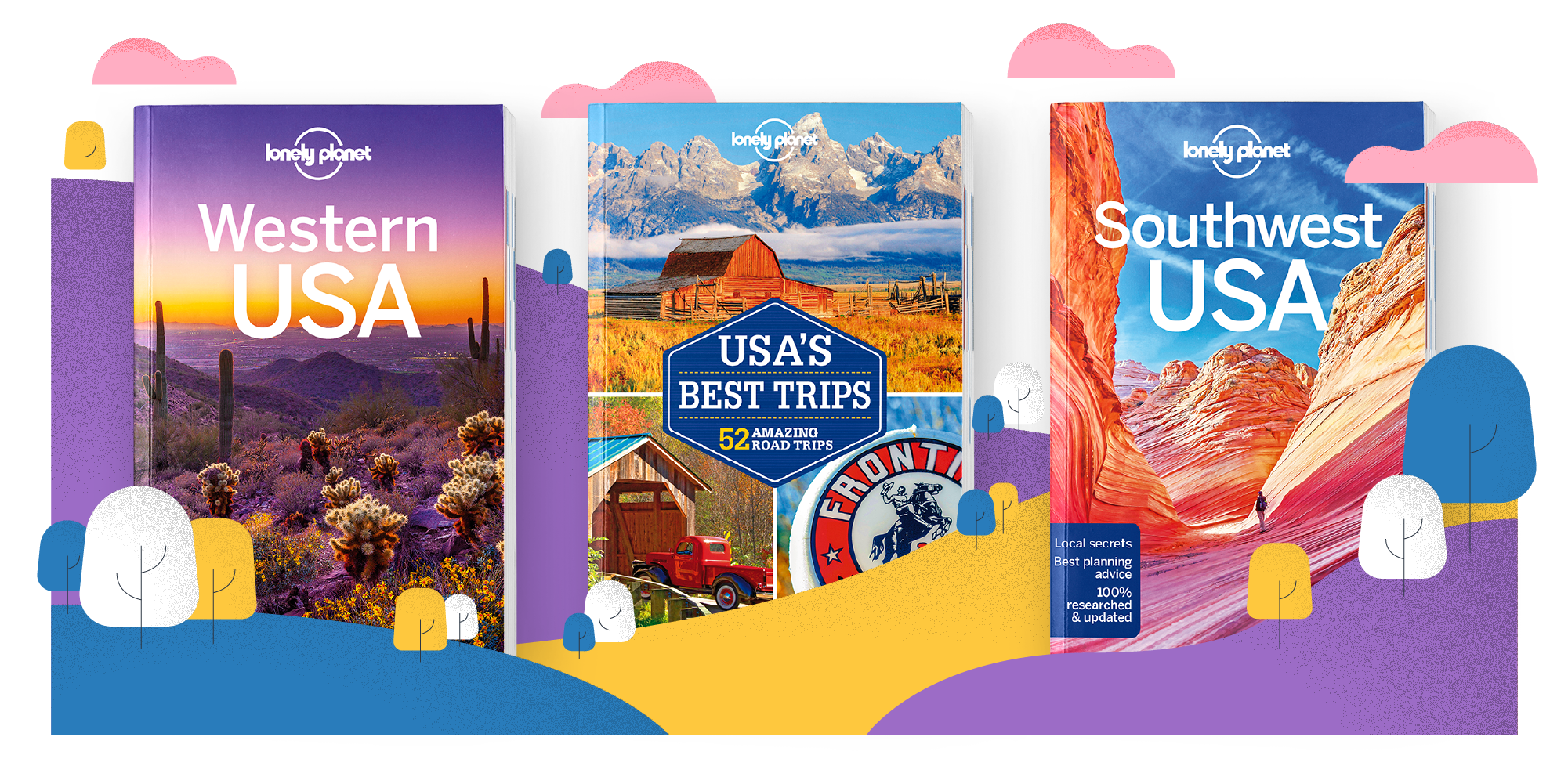 Lonely Planet's 3 for 2 sale