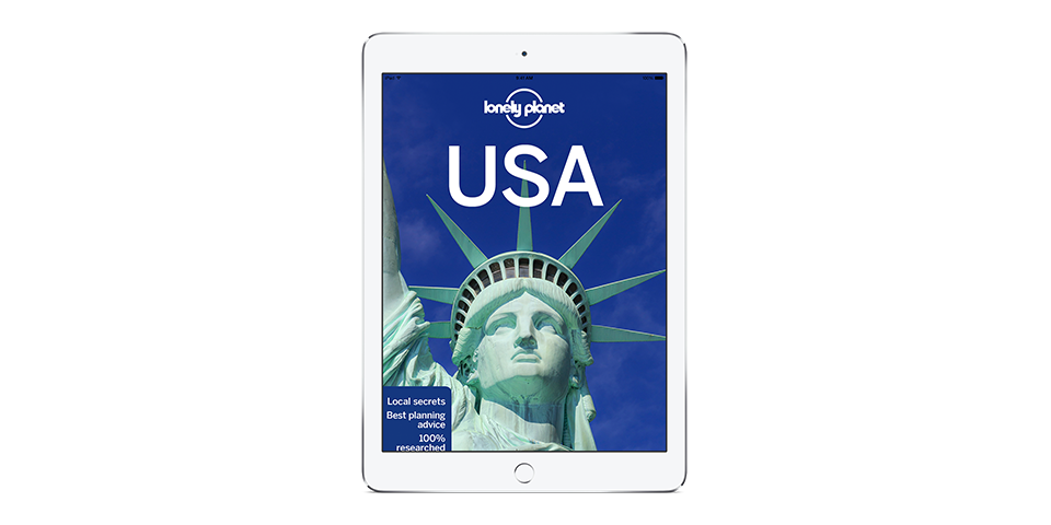 Lonely Planet's USA 11th edition out now