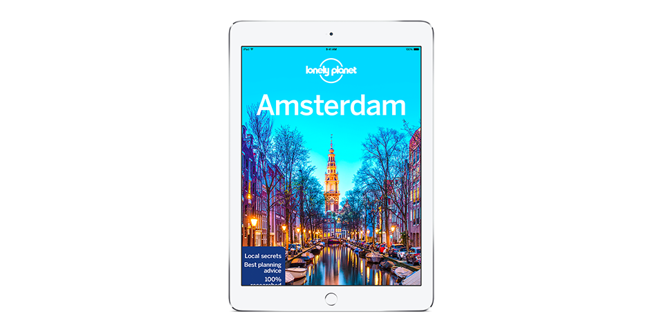 Lonely Planet's Amsterdam 12th edition out now