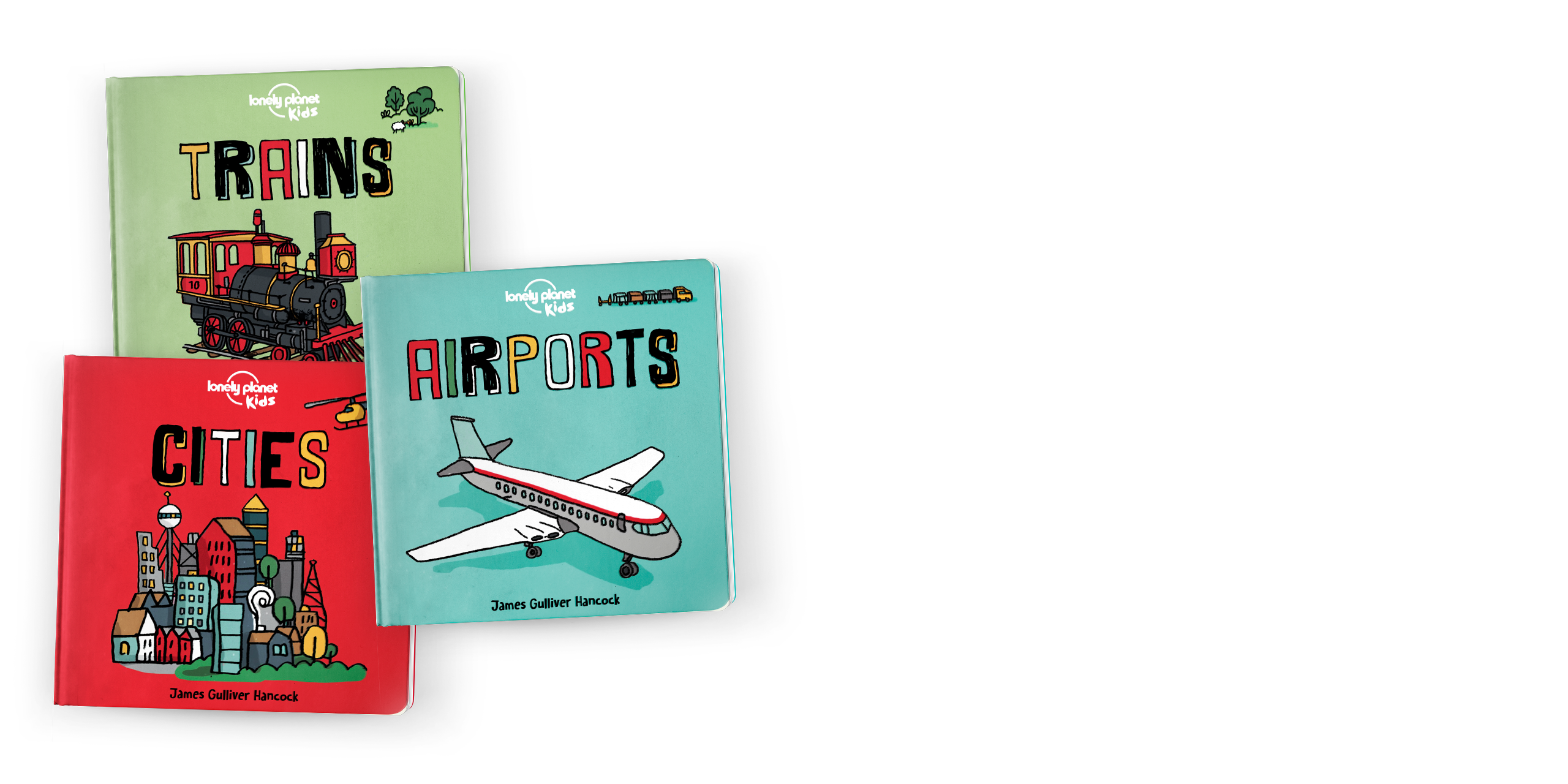 Lonely Planet's Board books for kids