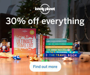 Lonely Planet's 30% off sale