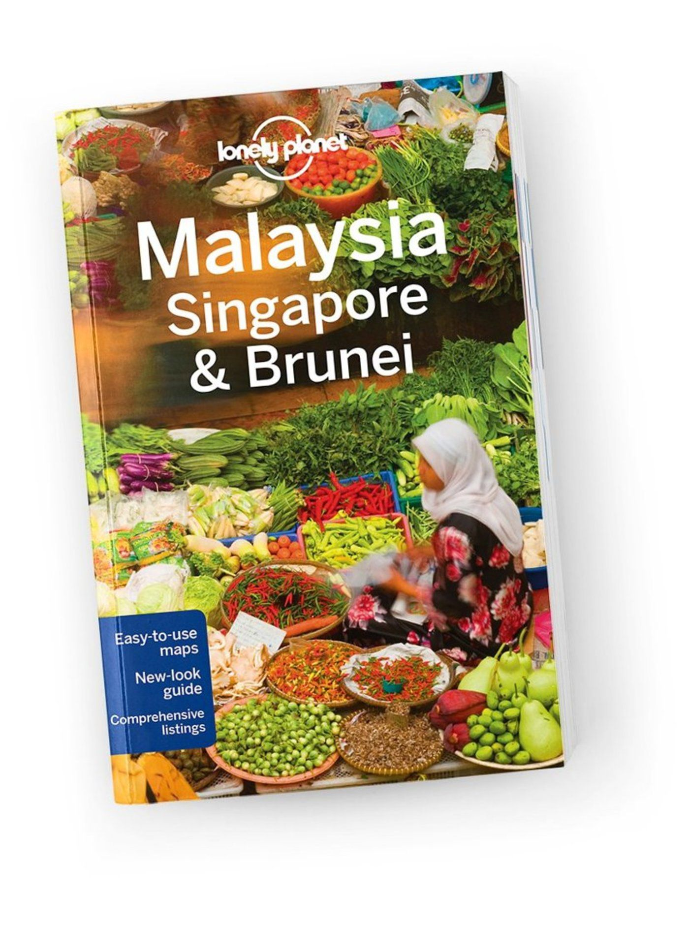 Malaysia, Singapore & Brunei travel guide, 13th Edition Aug 2016 by Lonely Planet 9781743210291100