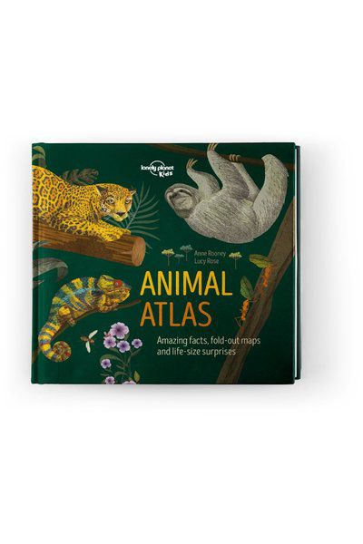 Image of Lonely Planet 9-12 Childrens Animal Atlas AU/UK, Edition - 1 by Lonely Planet Gifts