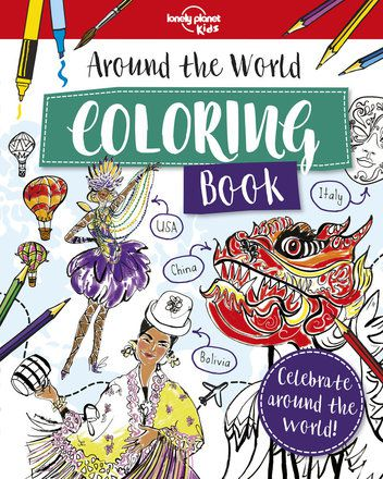 Around the World Coloring Book (North and South America edition)