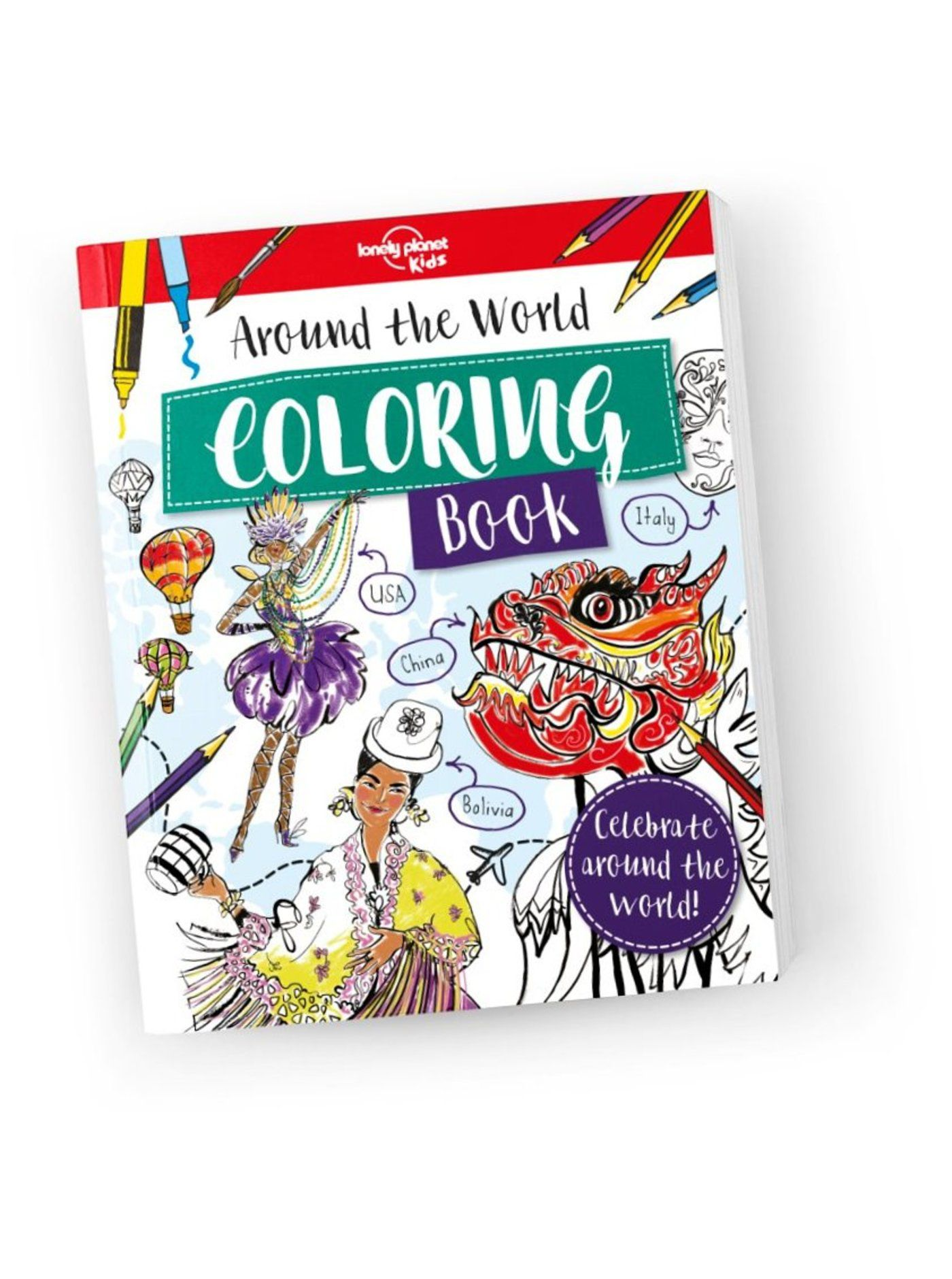 Around the World Coloring Book (North & South America edition)