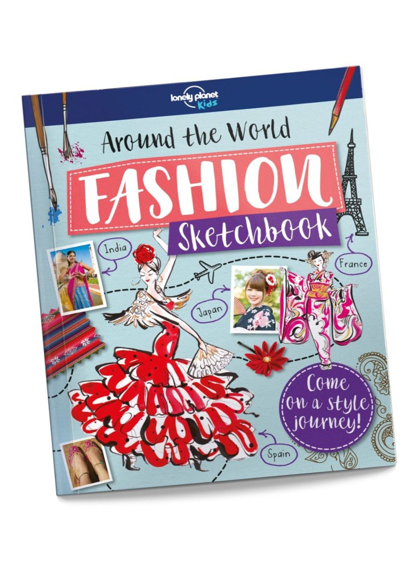 Around the World Fashion Sketchbook (North & South America edition)