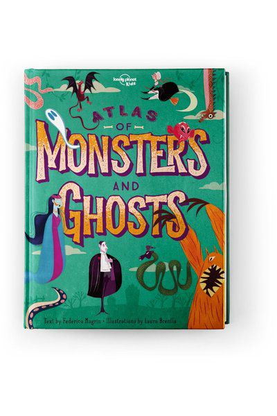 Image of Lonely Planet 9-12 Childrens Atlas of Monsters and Ghosts AU/UK, Edition - 1 by Lonely Planet Gifts