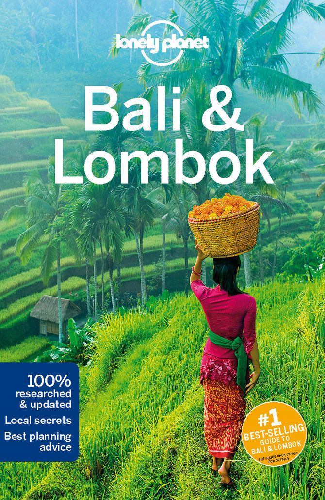 Cover of Bali & Lombok travel guidebook – Lonely Planet Shop
