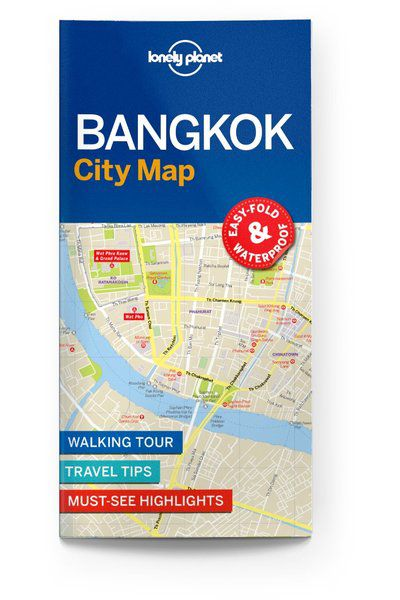 Image of Lonely Planet City Map Bangkok City Map, Edition - 1 by Lonely Planet Holidays