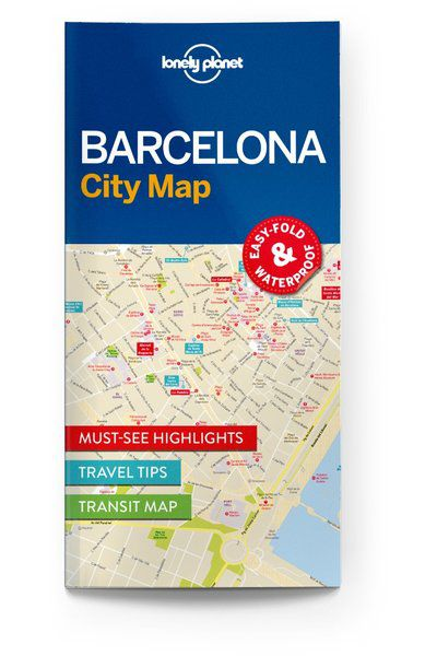 Image of Lonely Planet City Map Barcelona City Map, Edition - 1 by Lonely Planet Holidays