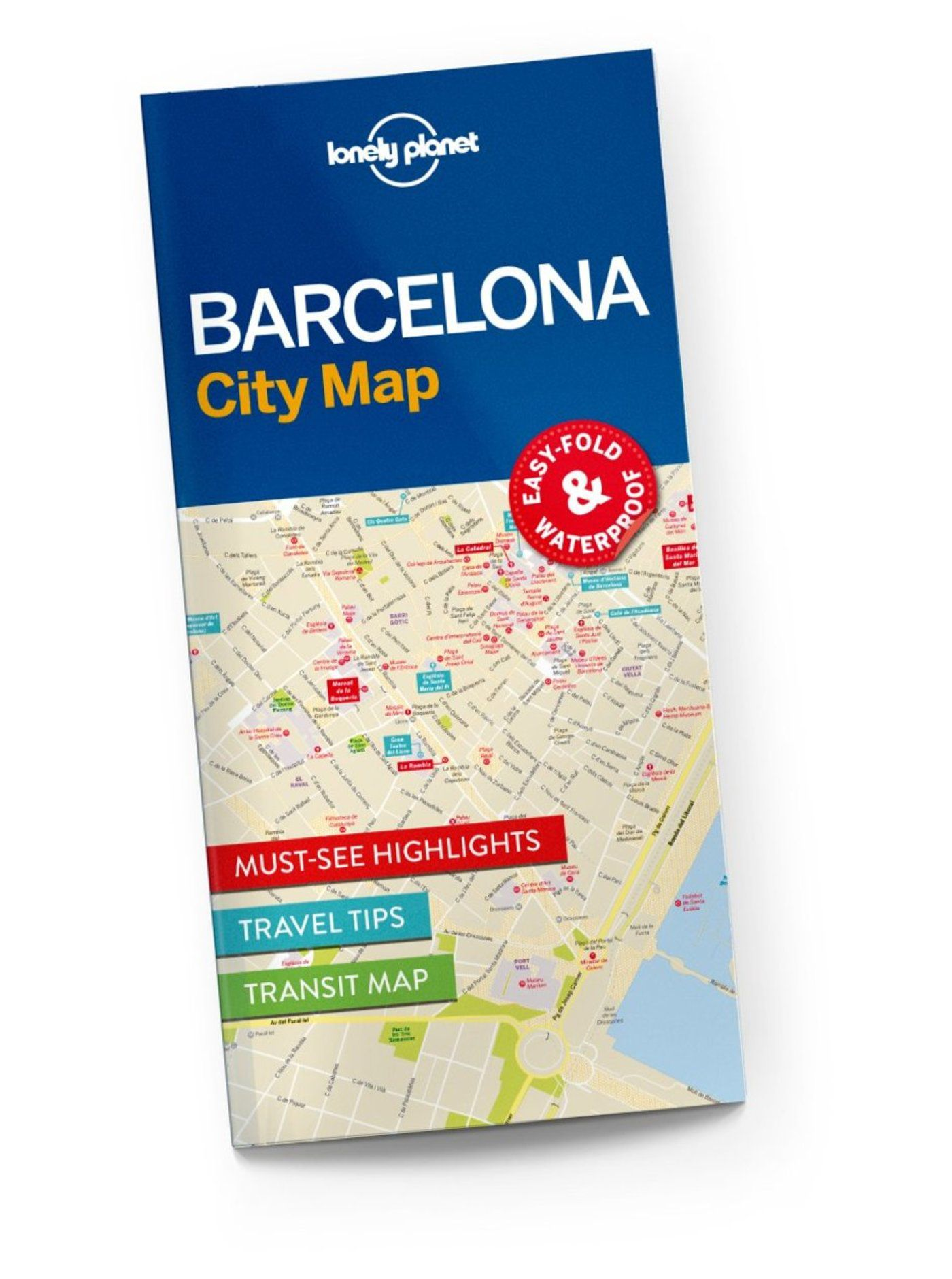 barcelona city map lonely planet shop lonely planet us