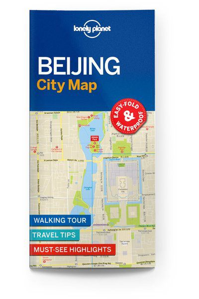 Image of Lonely Planet City Map Beijing City Map, Edition - 1 by Lonely Planet Holidays