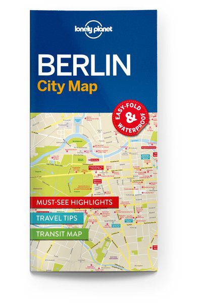 Image of Lonely Planet City Map Berlin City Map, Edition - 1 by Lonely Planet Holidays