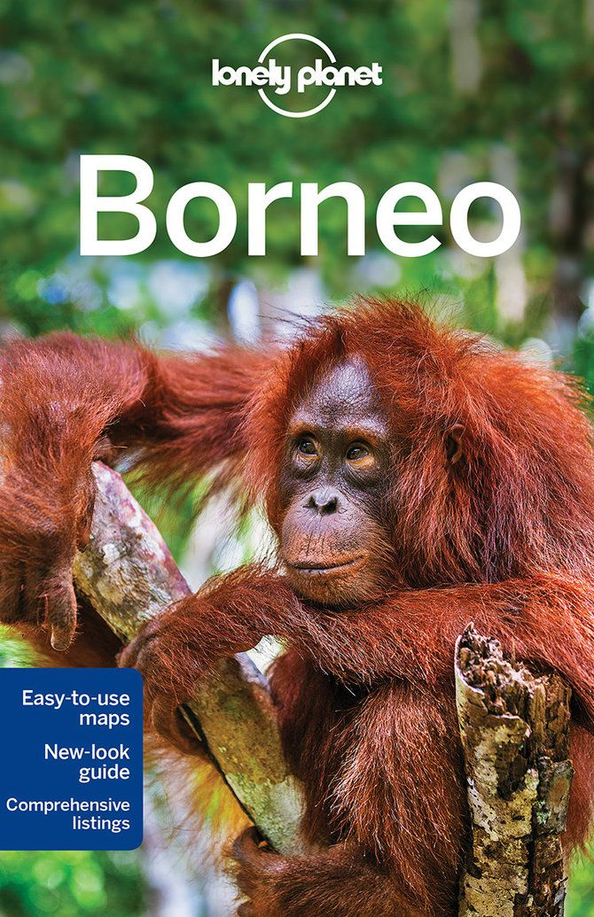 Cover of Lonely Planet's Borneo travel guidebook – Lonely Planet Online Shop
