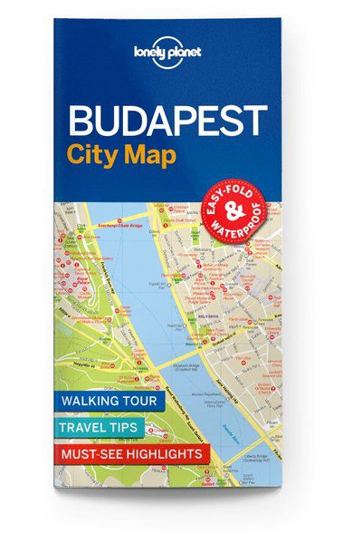 Image of Lonely Planet City Map Budapest City Map, Edition - 1 by Lonely Planet Holidays