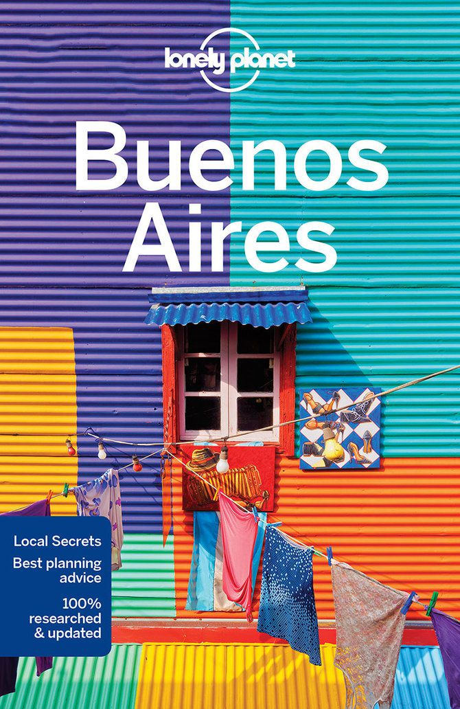 Cover of Buenos Aires travel guidebook – Lonely Planet Shop
