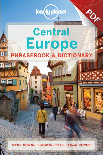 Central Europe Phrasebook - Czech (PDF Chapter)