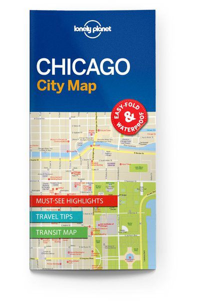 Image of Lonely Planet City Map Chicago City Map, Edition - 1 by Lonely Planet Holidays