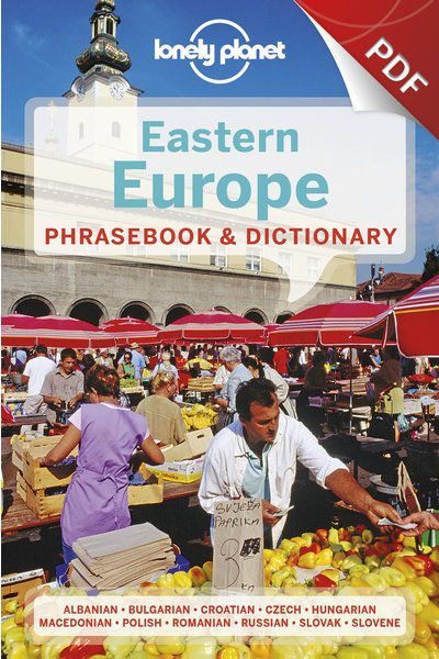 Eastern Europe Phrasebook - Russian (PDF Chapter)