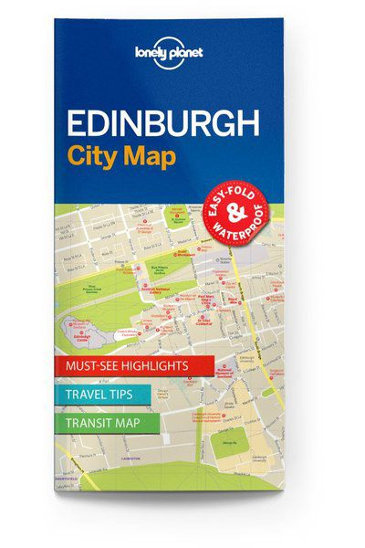 Image of Lonely Planet City Map Edinburgh City Map, Edition - 1 by Lonely Planet Holidays