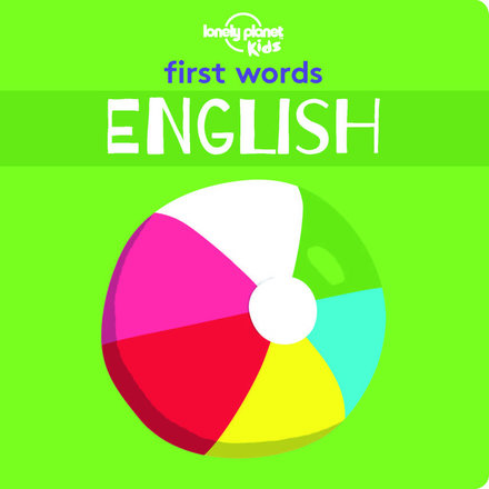 First Words: English (Board Book)