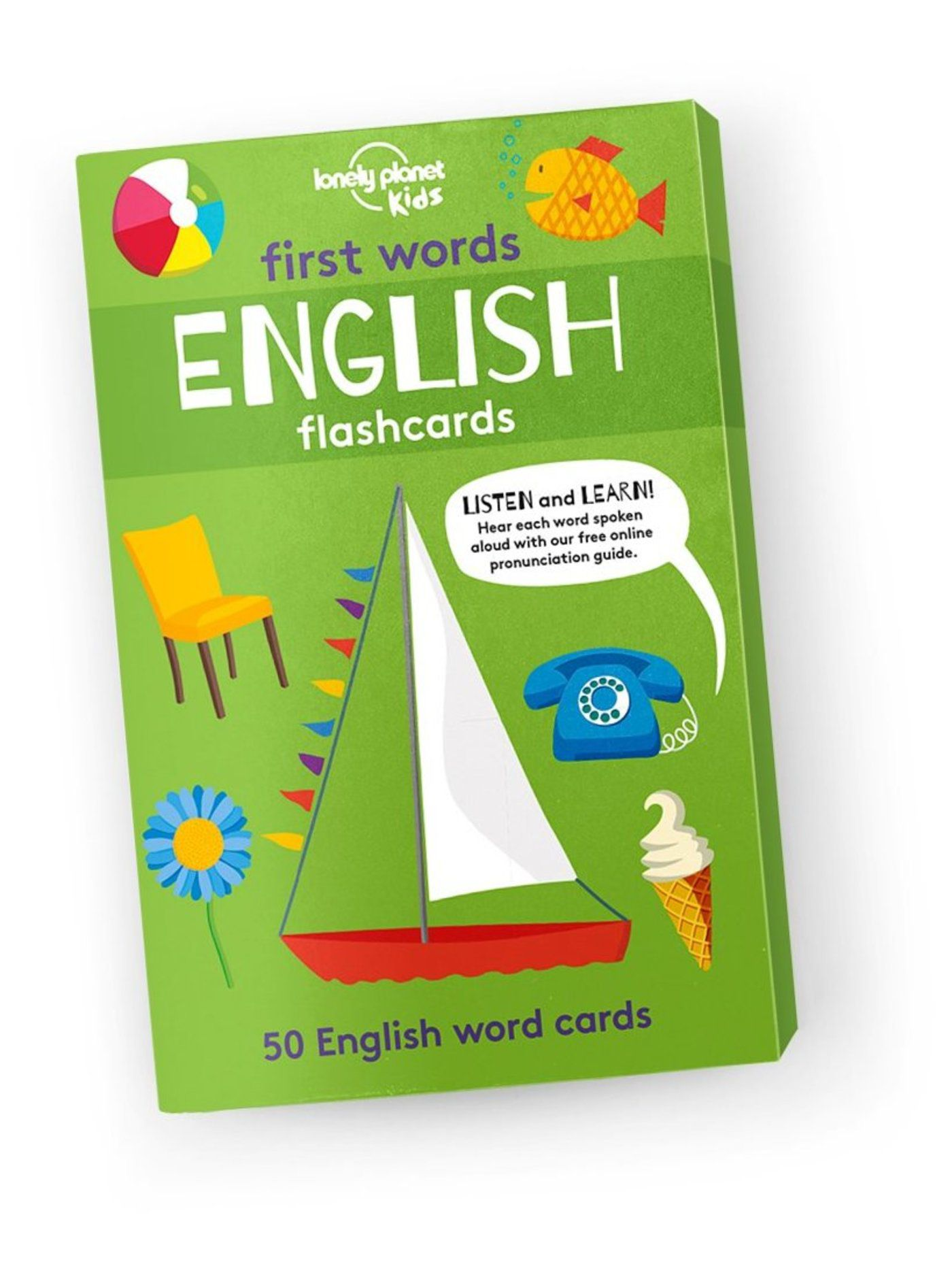 First Words English Flashcards - Lonely Planet US