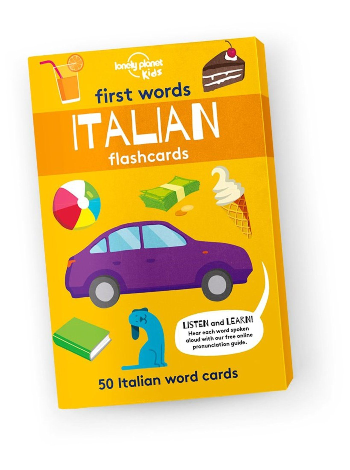 First Words: Italian (Flashcards)