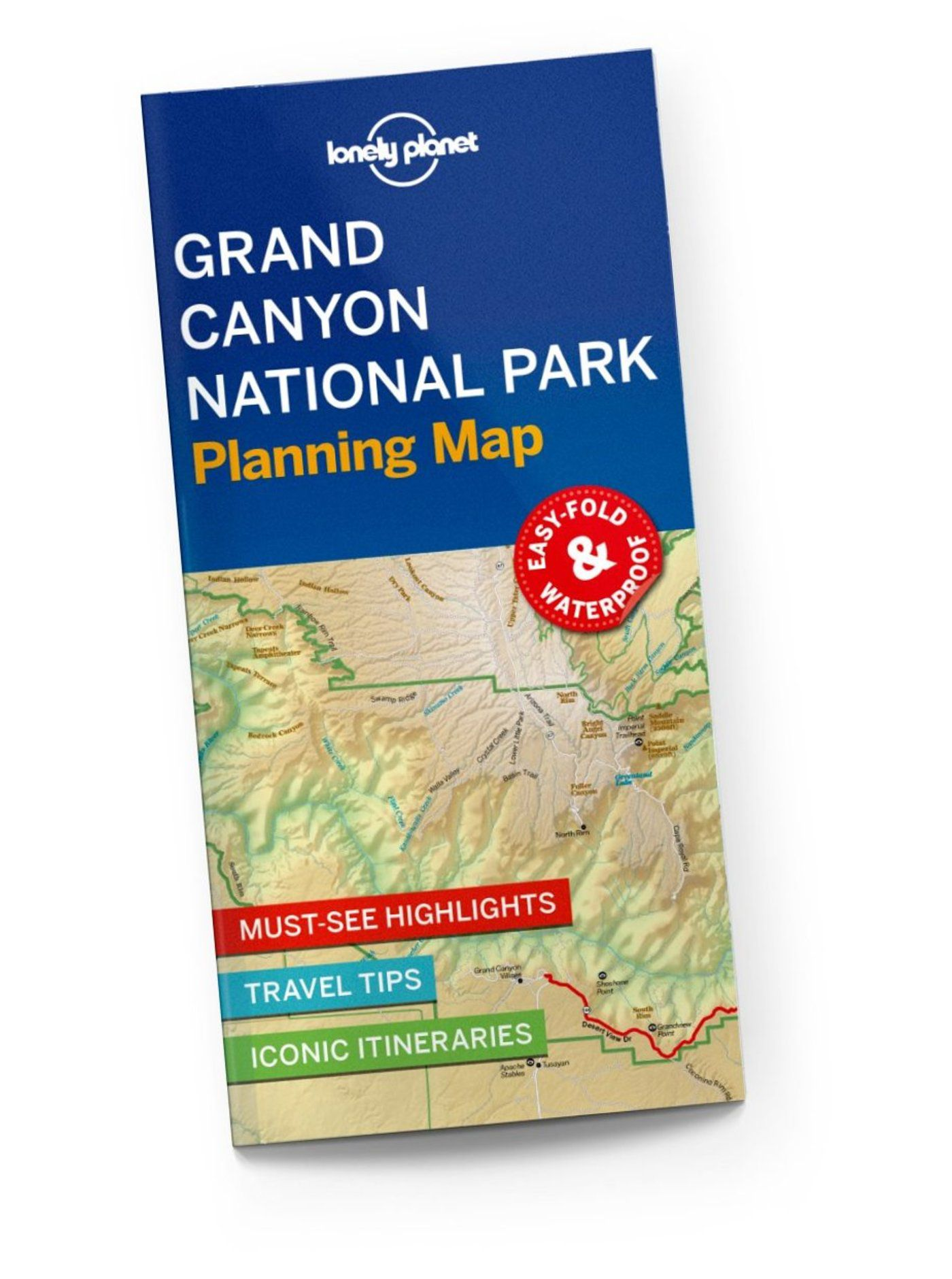 Grand Canyon National Park Planning Map