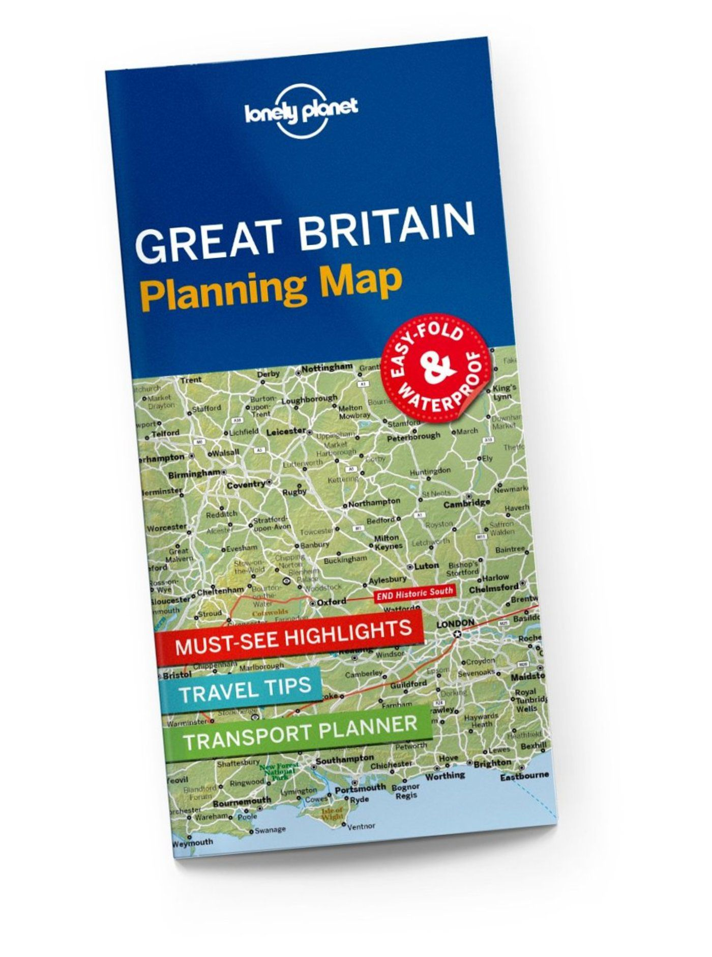 Great Britain Planning Map - Lonely Planet Shop - Lonely Planet US