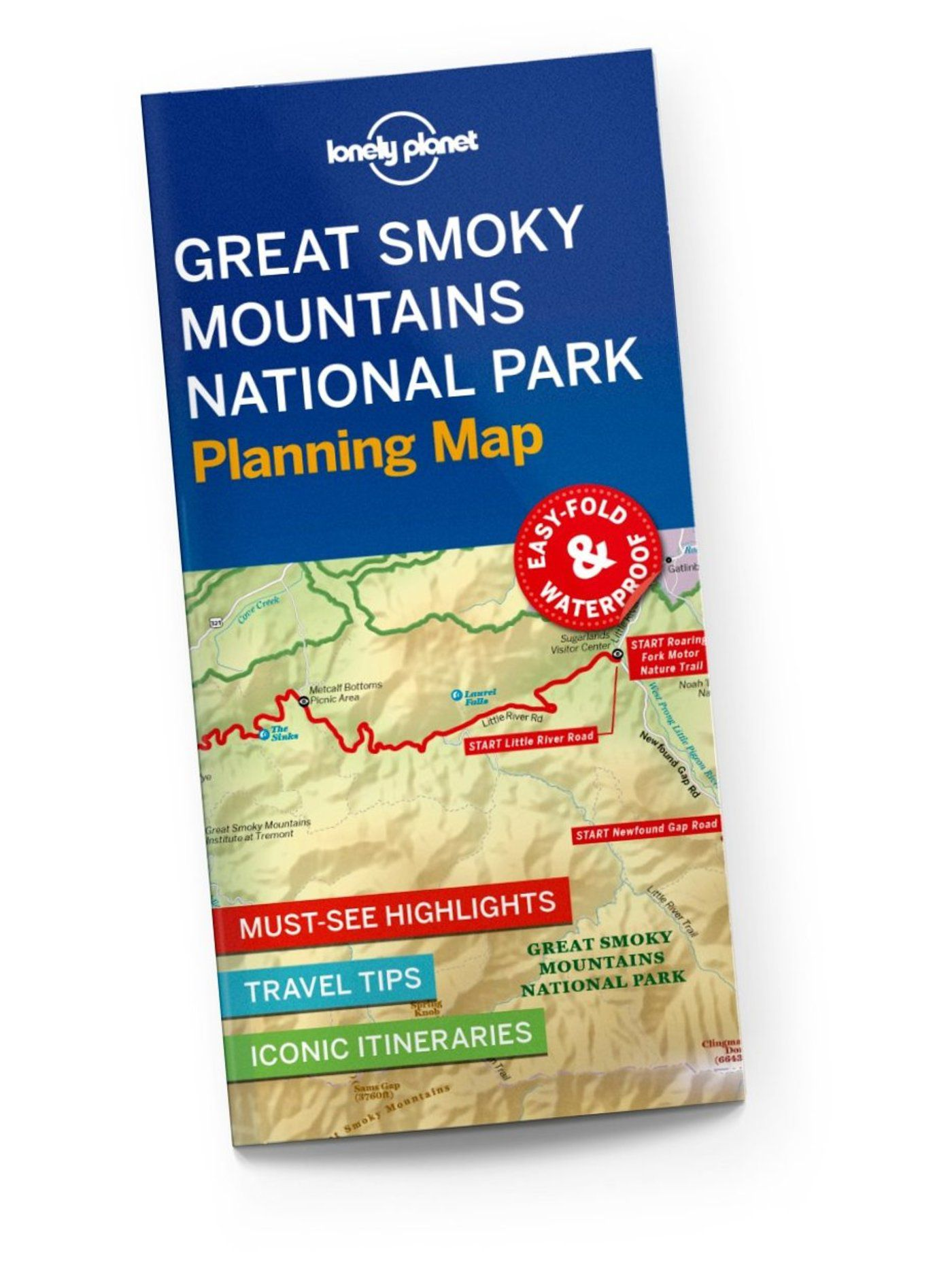 Great Smoky National Park Planning Map