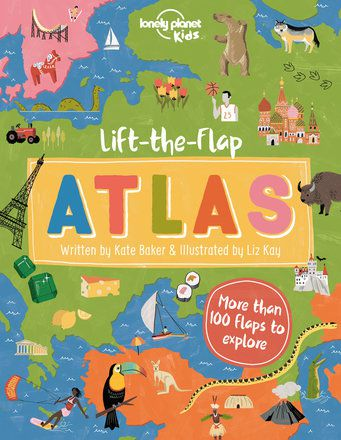 Lift-the-Flap Atlas (North & South American edition)