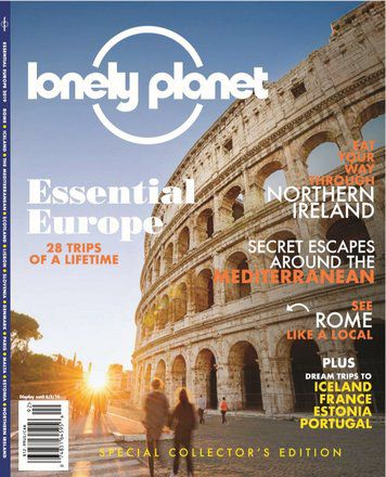 Lonely Planet Magazine: Essential Europe