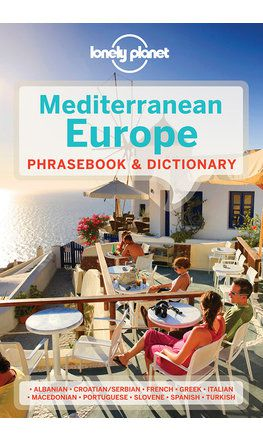 Mediterranean Europe Phrasebook - 3rd edition