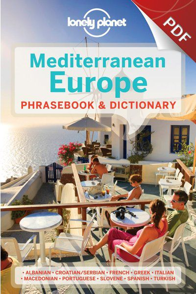 Mediterranean Europe Phrasebook - Spanish (PDF Chapter)