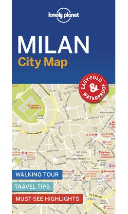 Milan City Map