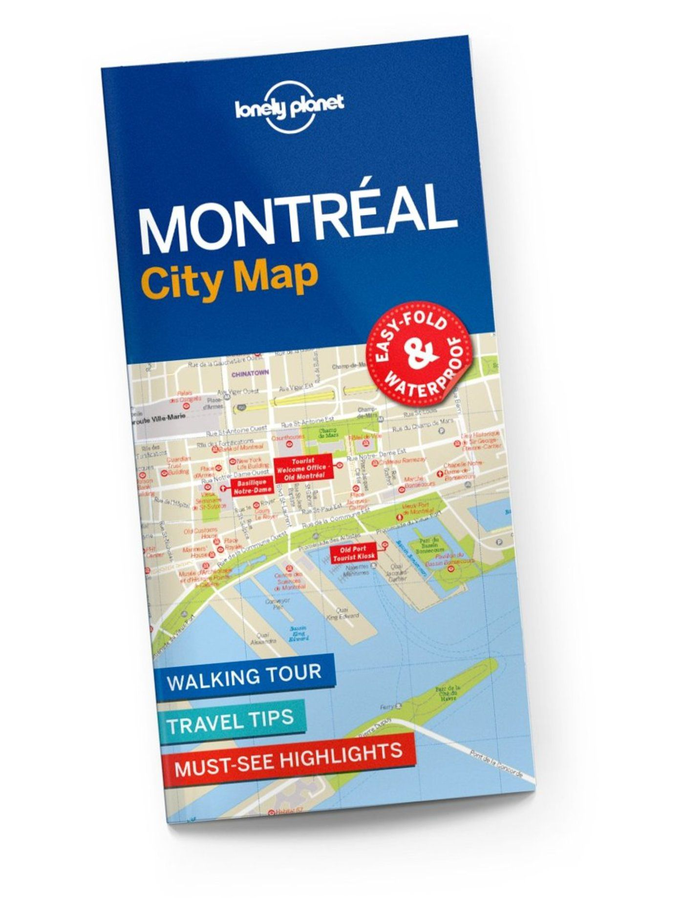 Montreal City Map