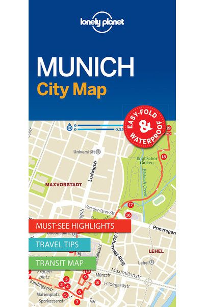 Munich City Map - Lonely Planet Shop - Lonely Planet US