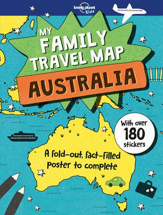 My Family Travel Map: Australia