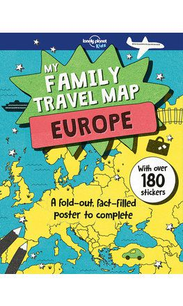 My Family Travel Map: Europe