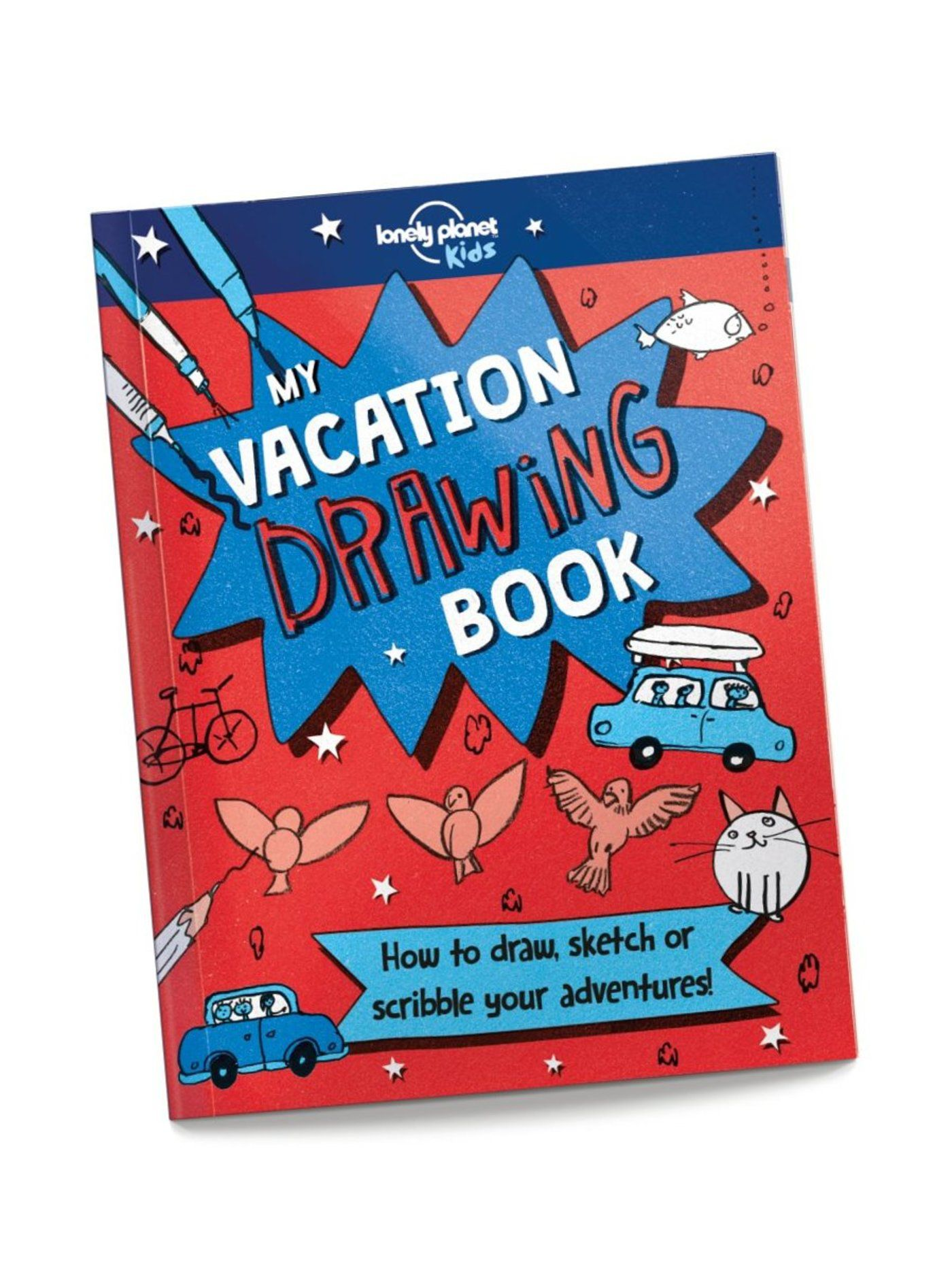 My Vacation Drawing Book (North and South America edition)