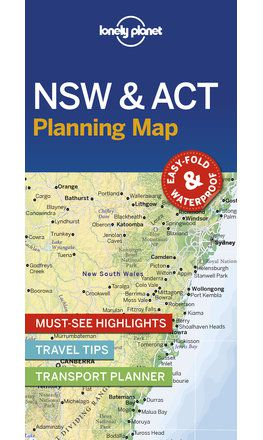 New South Wales & Australian Capital Territory Planning Map