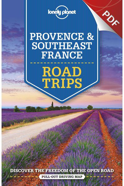 Map Of South East France.Provence Southeast France Road Trips Lavender Route Trip Pdf Chapter