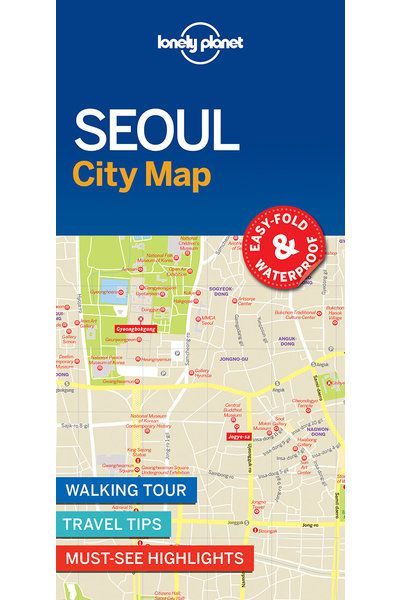 Seoul City Map Lonely Planet Shop Lonely Planet US