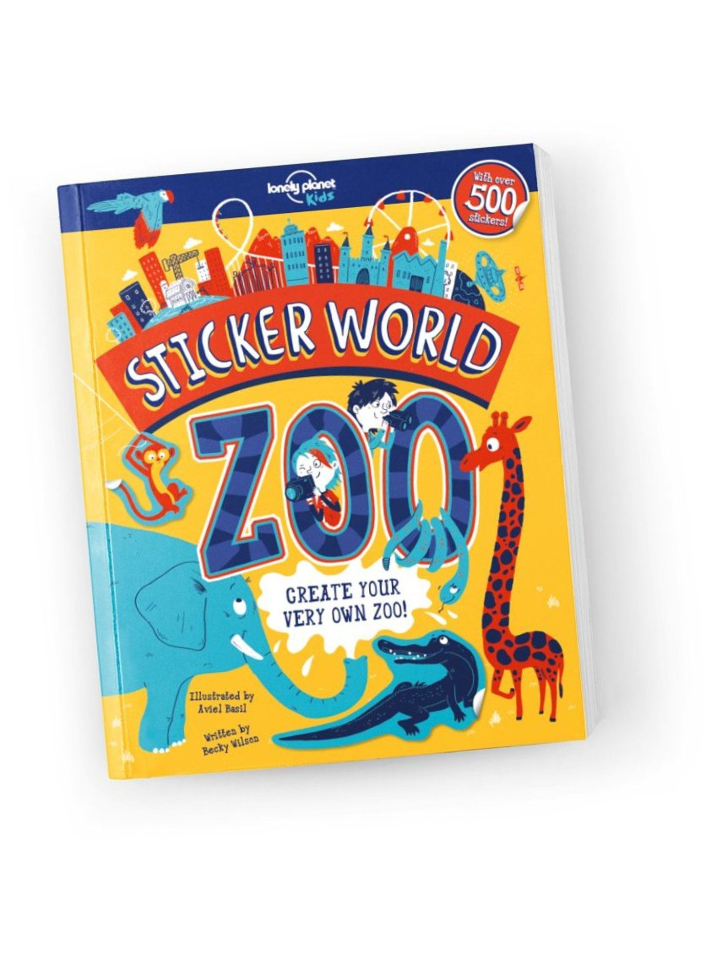 Sticker World: Zoo