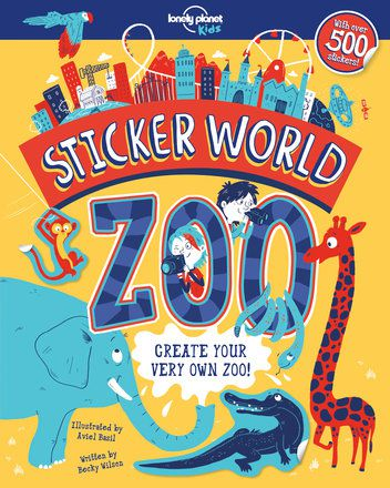 Sticker World - Zoo 1 (North and South America edition)