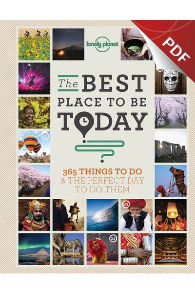 The Best Place to be Today - April (PDF Chapter)