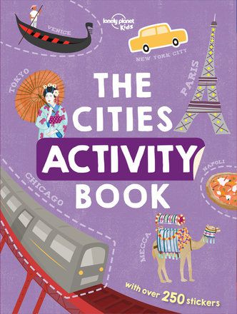 The Cities Activity Book (North and South America edition)